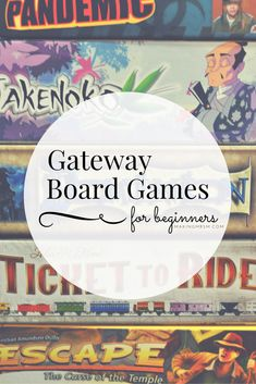 Itching to play a board game that isn't monopoly? Try these gateway board games that are unique and fun for the entire family. Pull up a seat and play today