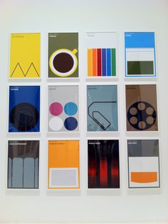I love these minimalist TV show posters from the Walker Art Center's Graphic Design: Now in Production