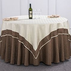 Tablecloths for living room/High-end fashion table Bubu Arts Hotel/restaurant tablecloths/table cloth/covering cloth-A diameter140cm(55inch)