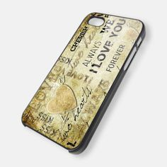 Love Always OC for iPhone 4/4s,5/5s/5c, Samsung Galaxy s3/s4 Case