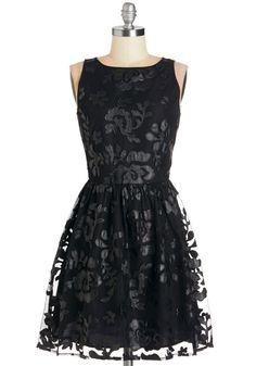 Date Under the Stars Dress in Black