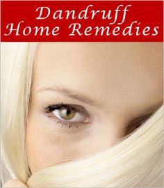 10 Home Remedies For Dandruff : TipNut.com... Apple Cider Vinegar (ACV): Mix 50/50 ACV with water. Thoroughly wet your head, pat down, then spray the ACV mix all over. Allow to sit for about 40 minutes, wash out, shampoo as normal.