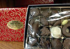 #Chocolate filled gift box:)  www.dunmorecandykitchen.com