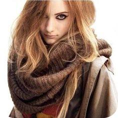 Big cosy scarf