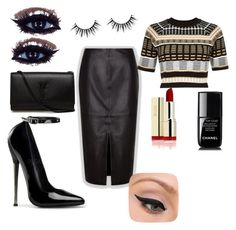 """Aurora"" by madamerasta on Polyvore featuring River Island, LORAC, Chanel and Yves Saint Laurent"