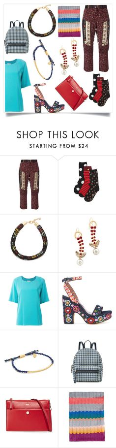 """""""Back to the essentials"""" by emmamegan-5678 ❤ liked on Polyvore featuring Kate Spade, Lulu Frost, Marni, Alberto Biani, Tabitha Simmons, Gorjana, Tory Burch, Missoni and modern"""