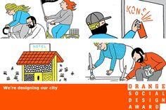 Do you have an idea that makes cities more livable? Submit your ideas to the first annual Orange Social Design Award, created by SPIEGEL ONLINE and KulturSPIEGEL, for a chance to win one of two €2,500 prizes.