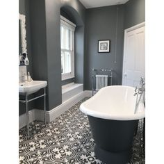 Tiles are something that can make or break a Victorian bathroom design. Opt for … Tiles are something that can make or break a Victorian bathroom design. Opt for stunning patterned floor tiles to replicate the period look. Cottage Bathroom Design Ideas, Bathroom Interior Design, Bathroom Ideas, Bathroom Designs, Bathroom Renovations, Bathroom Vanities, Shower Ideas, Remodel Bathroom, Budget Bathroom