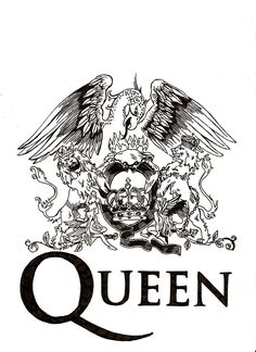 Queen Crest, designed by the legendary Freddie Mercury. John Deacon, Pop Rock, Rock N Roll, Queen Banda, God Save The Queen, Queen Freddie Mercury, Freddie Mercury Tattoo, Queen Drawing, Rock Band Logos