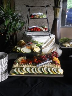 UNLIMITED Crudite Station for the entire hour of your cocktail hour here at Valleybrook Country Club #valleybrookweddings #valleybrookcountryclub