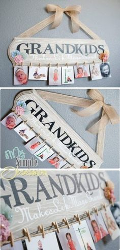 Wooden Family Calendar Birthday Wall Hanging Video Tutorial