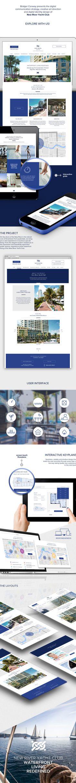 NEW RIVER YACHT CLUB on Web Design Served Website Design Inspiration, Ui Inspiration, Corporate Website Design, Digital Web, New River, Ui Web, Yacht Club, Innovation Design, Layout Design