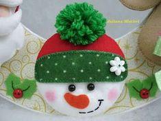 Gingerbread Christmas Decor, Grinch Christmas Decorations, Christmas Ornament Crafts, Felt Decorations, Christmas Sewing, Felt Ornaments, Handmade Christmas, Christmas Diy, Christmas Crafts