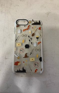 This fits iPhone Plus only used a hand ful if times still in great condition. Coque Harry Potter, Capa Harry Potter, Bijoux Harry Potter, Objet Harry Potter, Harry Potter Iphone Case, Deco Harry Potter, Harry Potter Artwork, Harry Potter Drawings, Theme Harry Potter
