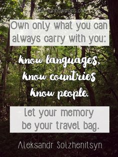20 Travel quotes you