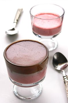 Chocolate and Strawberry Mousse