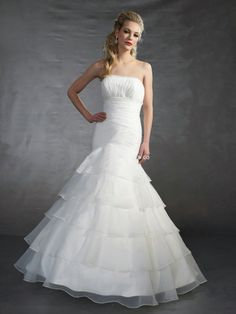 Satin Strapless Sweetheart Neckline Ball Gown Dress With A Dropped Waist