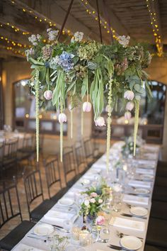 114 best wedding reception decor images on pinterest wedding hanging table centrepiece junglespirit Choice Image