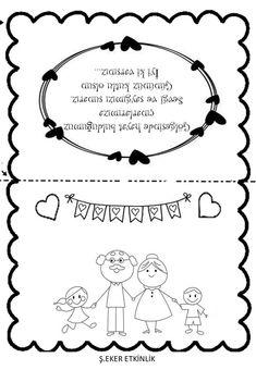 Grandpa Quotes, Family Drawing, Ramadan Crafts, Grandparents Day, Preschool Art, Classroom Activities, Diy Gifts, Free Printables, Kindergarten