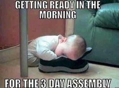 JW humor gettin ready in the morning