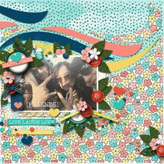 """Credits: One-derful #9 Template : Heartstrings Scrap Art Besties - A Pickled Pairs Collab Kit:  Bellisae Designs & Jennifer Labre Designs https://www.pickleberrypop.com/shop/product.php?productid=46189&cat=8&page=1"""" target=""""_blank"""">https://www.pickleberrypop.com/shop/product.php?productid=46189&cat=8&page=1"""