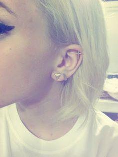 Unique Ear Piercings Tumblr