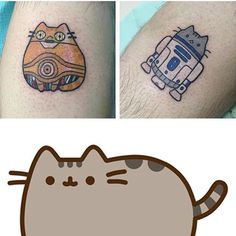 Because cats and Star Wars are two of my favorite things! Love these mashups by @catladytattooist!
