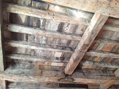 18th Century beamed ceiling at The Arc Gallery Chester