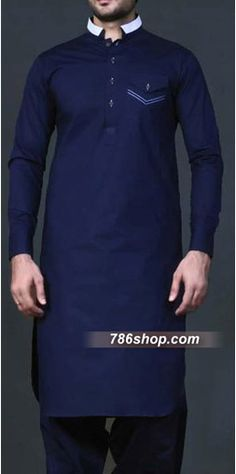 Blue Shalwar Kameez Suit | Buy Pakistani Indian Dresses