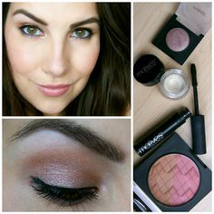 Easy one-shadow eye makeup! Using Motives cosmetics