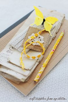 yellow, gray, kraft - from Creative Mint