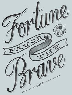 Be Brave... by damiankingart.com, via Flickr