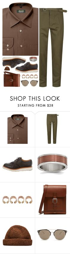 """""""Gingerbread"""" by sofemmeia ❤ liked on Polyvore featuring Valentino, Mark McNairy New Amsterdam, Maison Margiela, Mulberry, Christian Dior, men's fashion and menswear"""