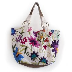big-1 Embroidery Bags, Embroidery Designs, Recycle Jeans, Diy Purse, Leather Bags Handmade, Couture, Purses And Bags, Decoupage, Diy And Crafts