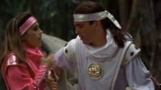 Kimberly helps Tommy up after he falls love Linda Riggins Power Rangers 1995, Pink Power Rangers, Power Rangers Movie, Tommy Power, Mmpr Movie, Kimberly Hart, Amy Jo Johnson, Surf Tattoo, Tommy Oliver