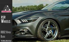 RSR Wheels - R802 hyper Black
