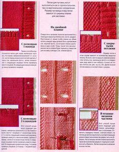 """Photo from album """"Неразобранное в verena sp"""" on Yandex. Knitting Stitches, Knitting Socks, Free Knitting, Baby Knitting, Crochet Motifs, Filet Crochet, Knit Crochet, Stitch Patterns, Knitting Patterns"""