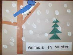 Maro's kindergarten: Animals in winter mini book made by kids!   Βιβλιαράκι για την χειμερία νάρκη φτιαγμένο από τα παιδιά!