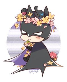 Bruce Wayne as Batman Nightwing, Batwoman, Batgirl, Red Hood, Damian Wayne, Jason Todd, I Am Batman, Batman Chibi, Cute Batman