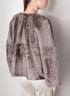 Fur jacket Uterque