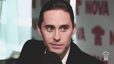 When his cheeky smile melted your heart. | 29 Times Jared Leto Made You Pregnant Without Even Touching You
