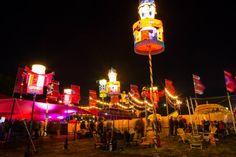 Camp Bestival - Chinese Lanterns