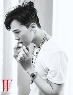 G-Dragon | W Korea June issue '15