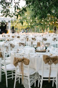 Outdoor Wedding Seating, Rustic Wedding Reception, Seating Chart Wedding, Wedding Table, Outdoor Weddings, Wedding Places, Wedding Locations, Wedding Venues, Woods Wedding Inspiration