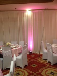 Beautiful Ivory Pipe and Drape Set Up!  ‪#‎PipeandDrapeOrangeCounty‬