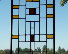 mission/prairie stained glass window