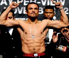 Juan Manuel Márquez. Juan is a boxer and is one of the few Mexicans to make it to the fourth division.