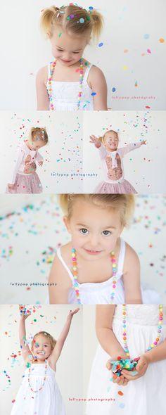 confetti mini sessions - Google Search
