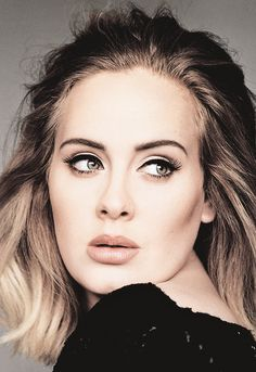 """fuckyasadele:  """"I will be making records for the rest of my life, I think."""" - Adele"""