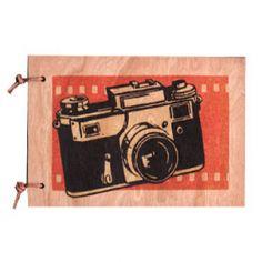 Camera Wood Journal #luvocracy #design #camera